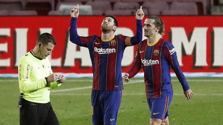 FC Barcelona z siódmym ligowym zwycięstwem z rzędu