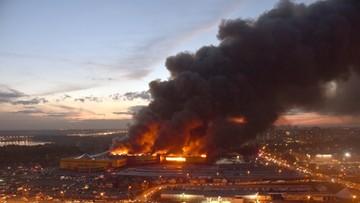 Ogromny pożar w Moskwie. 3 tysiące osób ewakuowanych