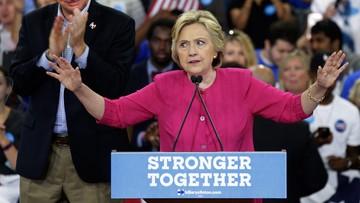 Clinton oskarża Rosję o włamanie do maili Demokratów