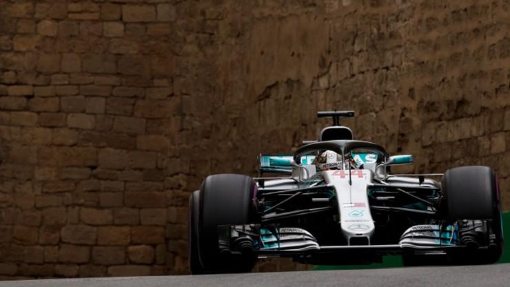 GP Azerbejdżanu: Hamilton wygrał wyścig w Baku!