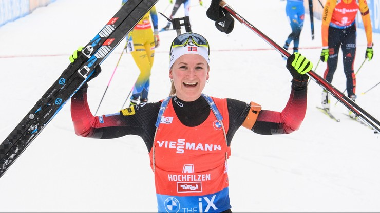 PŚ w biathlonie: Wygrana Olsbu Roeiseland, Polki daleko