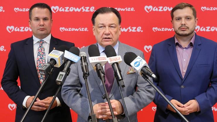"""Marszałek województwa krytykuje pomysł podziału Mazowsza. """"Motywowany politycznie"""""""