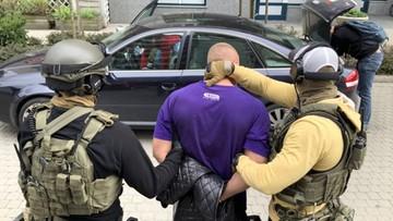 Kamera Polsat News przy zatrzymaniu handlarzy narkotykami [ZOBACZ WIDEO]