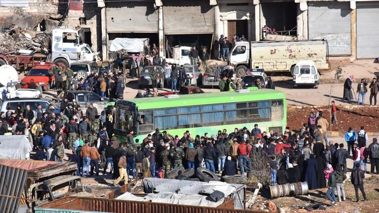 Rosja: ewakuacja z Aleppo została zakończona. Syryjskie źródła wojskowe: jedynie zawieszona