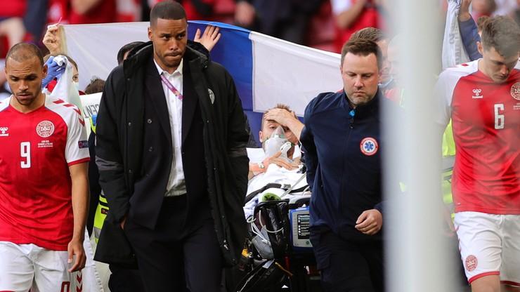 Reanimacja piłkarza w czasie meczu Euro. Lekarz o stanie zdrowia Eriksena