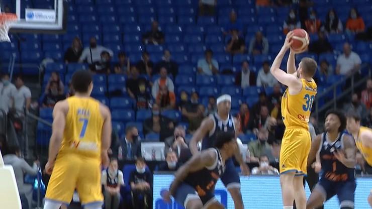 Trójka za trójką! Tak grał polski koszykarz w finale Pucharu Europy FIBA