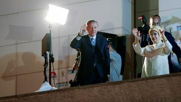 Erdogan wygrał wybory prezydenckie w Turcji w pierwszej turze