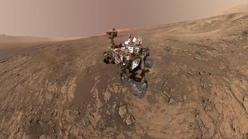 Ważne odkrycie. W skałach na Marsie znaleziono materię organiczną