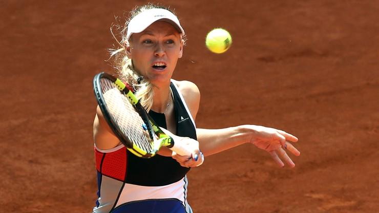 WTA w Madrycie: Porażka Wozniacki w trzeciej rundzie