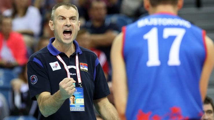 Grbić ogłosił szeroką kadrę Serbii na MŚ siatkarzy