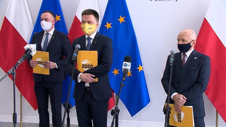 Polska 2050 goni KO. Najnowszy sondaż