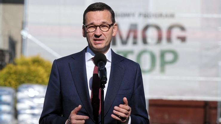 Premier: ponad 100 mld zł na rządowy program Stop Smog