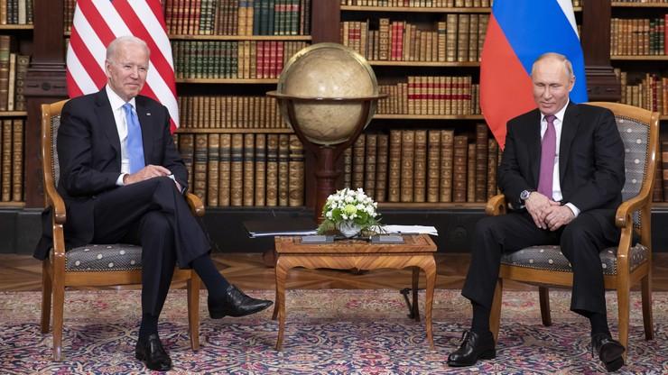 Władimir Putin i Joe Biden wymienili się prezentami