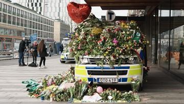 Uzbek, który wjechał ciężarówką w tłum w Sztokholmie oskarżony o terroryzm
