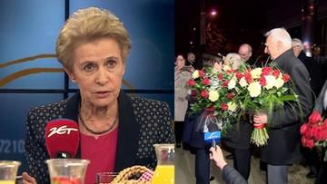 """""""Myślałam, że to wrócił Sobieski spod Wiednia"""". Posłanka PO o powitaniu premier"""