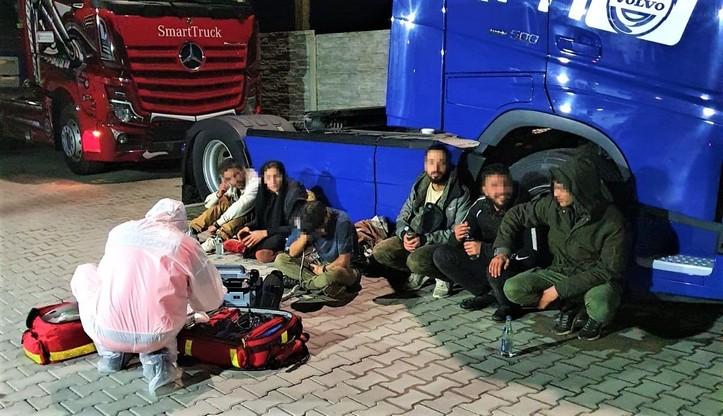 Nielegalni imigranci w ciężarówce z arbuzami. Przyjechali do Polski z Grecji