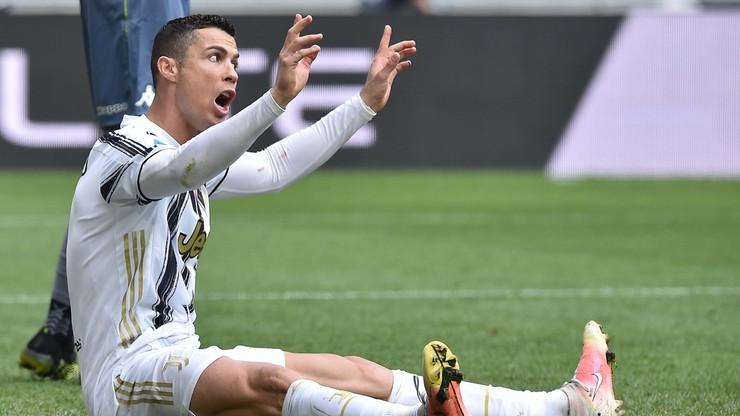 Serie A: Cristiano Ronaldo nie zagra w meczu Atalanta - Juventus