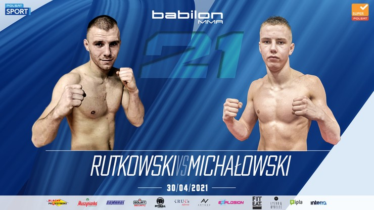 """Babilon MMA 21: Zawodowy debiut młodszego brata """"Rutka"""" 30 kwietnia"""