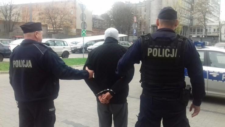 Kibice zatrzymani po nocnym pościgu w Łodzi. Mogli szukać odwetu za kradzież flag
