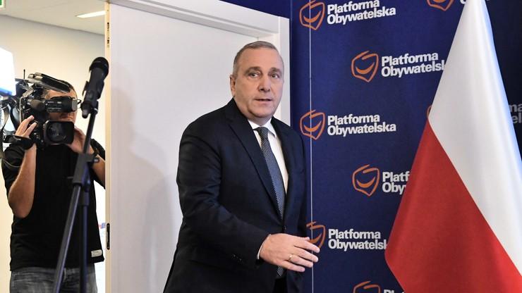 Koalicja Obywatelska zgłasza kandydatów do Sejmu i Senatu. Znamy nazwiska