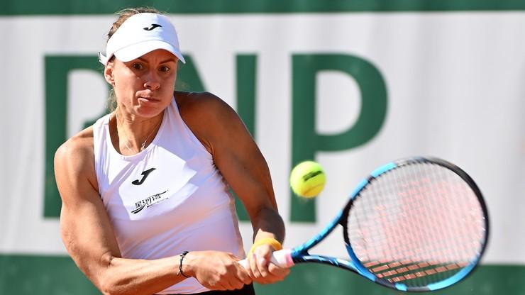Roland Garros: Magda Linette awansowała do drugiej rundy debla