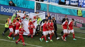 Euro 2020: Polscy piłkarze w szoku po dramacie Eriksena