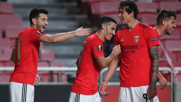 Portugalskie media: Benfica wygrała z Lechem niskim nakładem sił