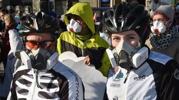"""Protest antysmogowy. """"Polskie powietrze najgorsze w UE"""""""