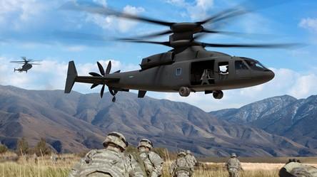 Tak pięknie wygląda przyszłość transportu powietrznego żołnierzy armii USA