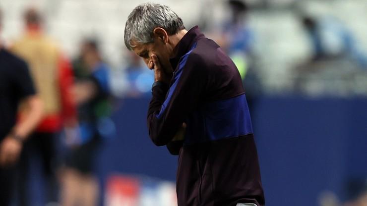 Barcelona zwolniła trenera. Powodem kompromitacja w Lidze Mistrzów