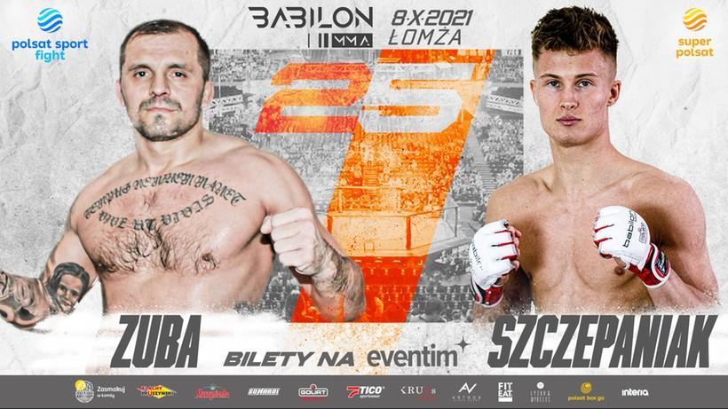 Babilon MMA 25: Stary lis kontra młody wilk. Damian Zuba sprawdzi Oskara Szczepaniaka
