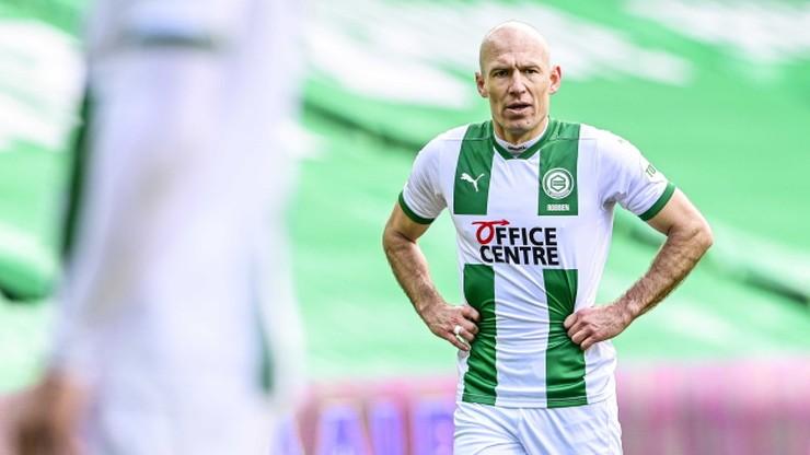 Arjen Robben wrócił do gry po półrocznej przerwie