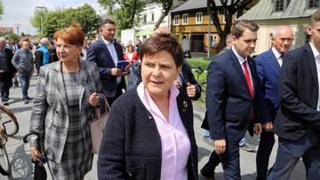 """Szydło zrezygnowała z ochrony SOP . """"Była wykorzystywana do politycznych ataków opozycji"""""""