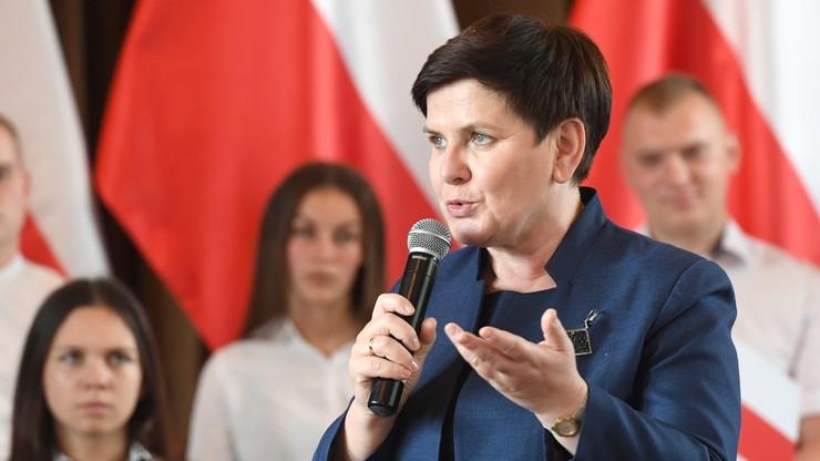 """Beata Szydło dla """"Sieci"""": nie wykluczam możliwości startu w wyborach do Parlamentu Europejskiego"""