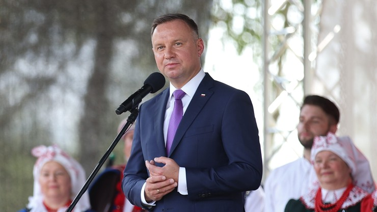 Małopolska. Prezydent na dożynkach: polscy rolnicy zapewniają nam bezpieczeństwo żywnościowe