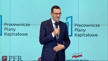 Morawiecki: program Pracowniczych Planów Kapitałowych jest cywilizacyjnie ważny dla Polski
