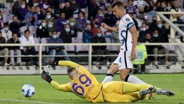 Serie A: Inter pokonał Fiorentinę i odzyskał pozycję lidera. Bartłomiej Drągowski wpuścił trzy gole