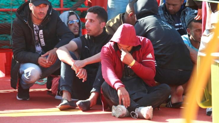 Migranci podejrzani o terroryzm zatrzymani na Morzu Śródziemnym. Płynęli do Europy