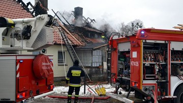 Tragiczny pożar w okolicach Kętrzyna
