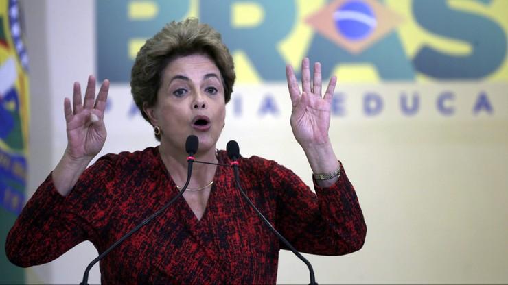 Zaskoczenie w Brazylii. Głosowanie ws odsunięcia do władzy prezydent anulowane