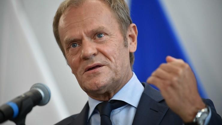 Donald Tusk o wyroku TK: to nie Polska, tylko Kaczyński ze swoją partią wychodzą z Unii
