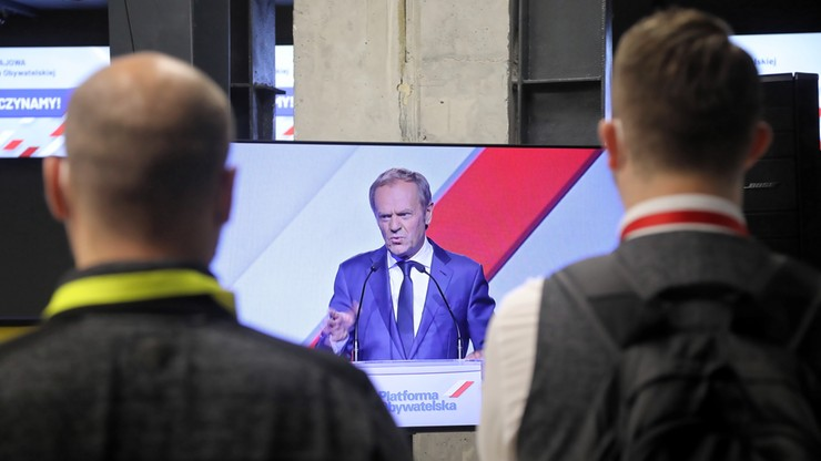 Grabiec: zadania przewodniczącego Platformy wykonuje od tego momentu Donald Tusk
