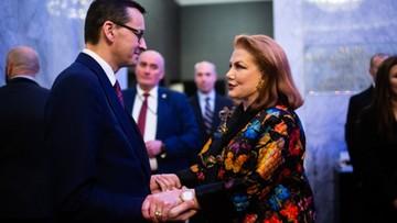 """""""Happy Birthday!"""". Mosbacher złożyła życzenia urodzinowe premierowi Morawieckiemu"""