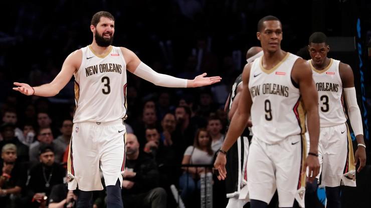 NBA: Rekordowo wysoki wynik w Nowym Orleanie