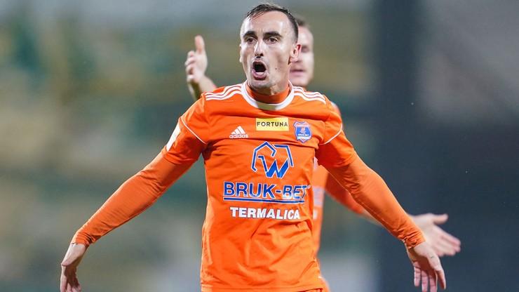 Fortuna 1 Liga: Górnik Łęczna w końcu poległ. Bruk-Bet Termalica górą w meczu na szczycie