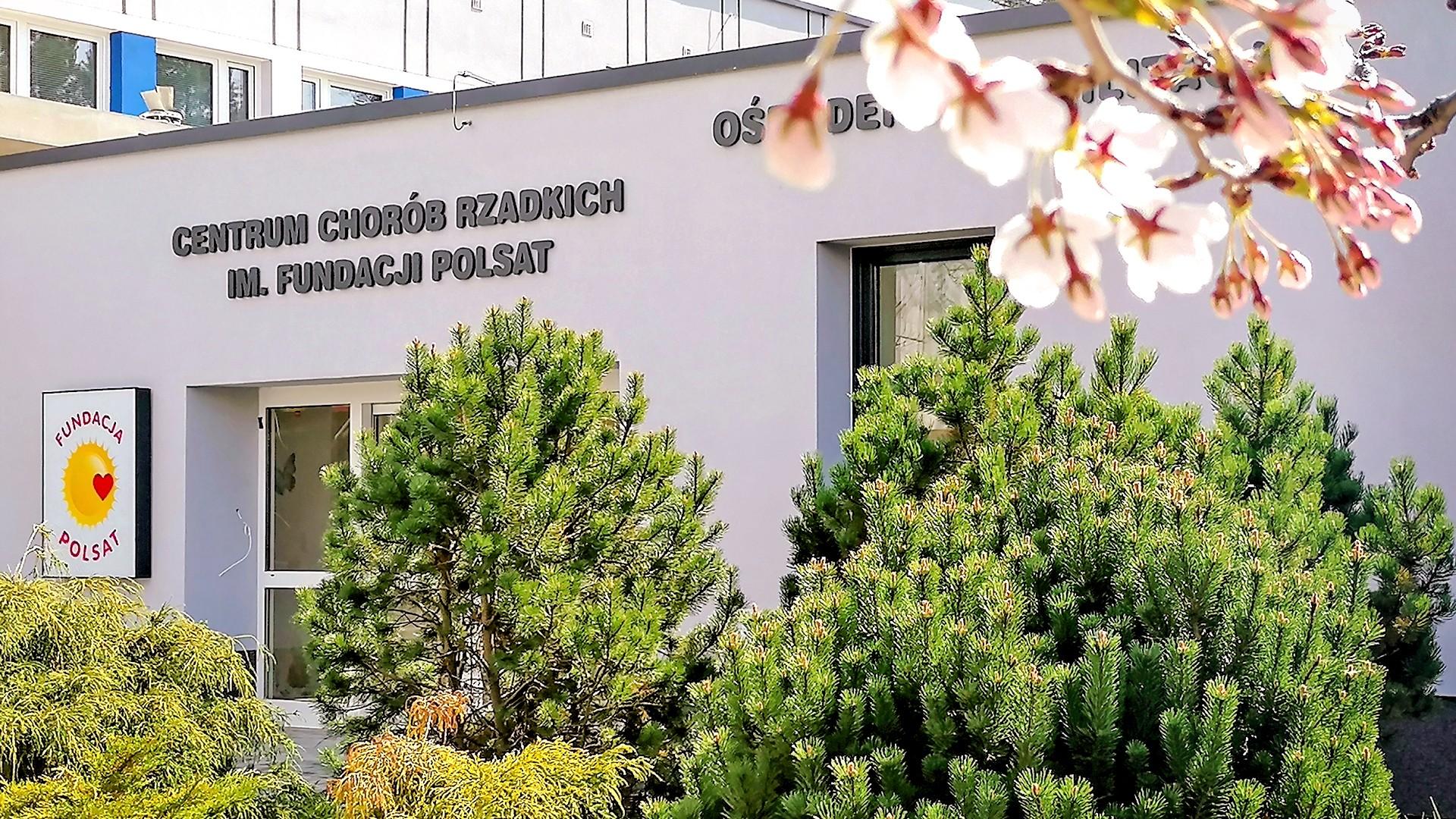 Centrum Chorób Rzadkich im. Fundacji Polsat już otwarte! Dziękujemy darczyńcom!