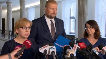 """Nowoczesna złożyła zawiadomienie do prokuratury na marszałka Sejmu. """"Udawał, że mnie nie widzi"""""""