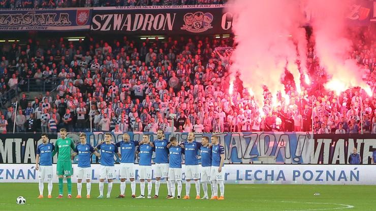Lech Poznań z mocnym wsparciem kibiców w Lubinie