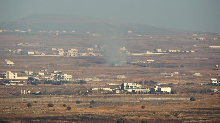 Izraelskie myśliwce zbombardowały Syrię