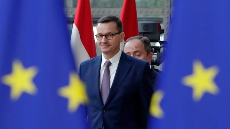 Morawiecki przed szczytem UE: Timmermans nie jest kandydatem kompromisu, on dzieli Europę